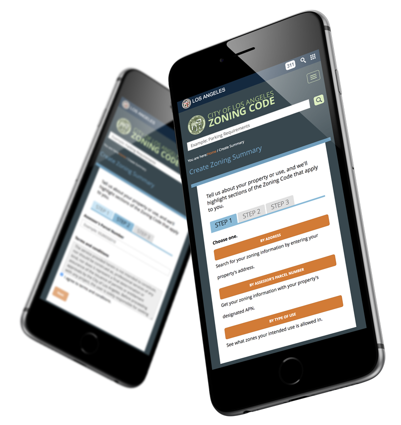 City of Los Angeles Zoning Code Mobile