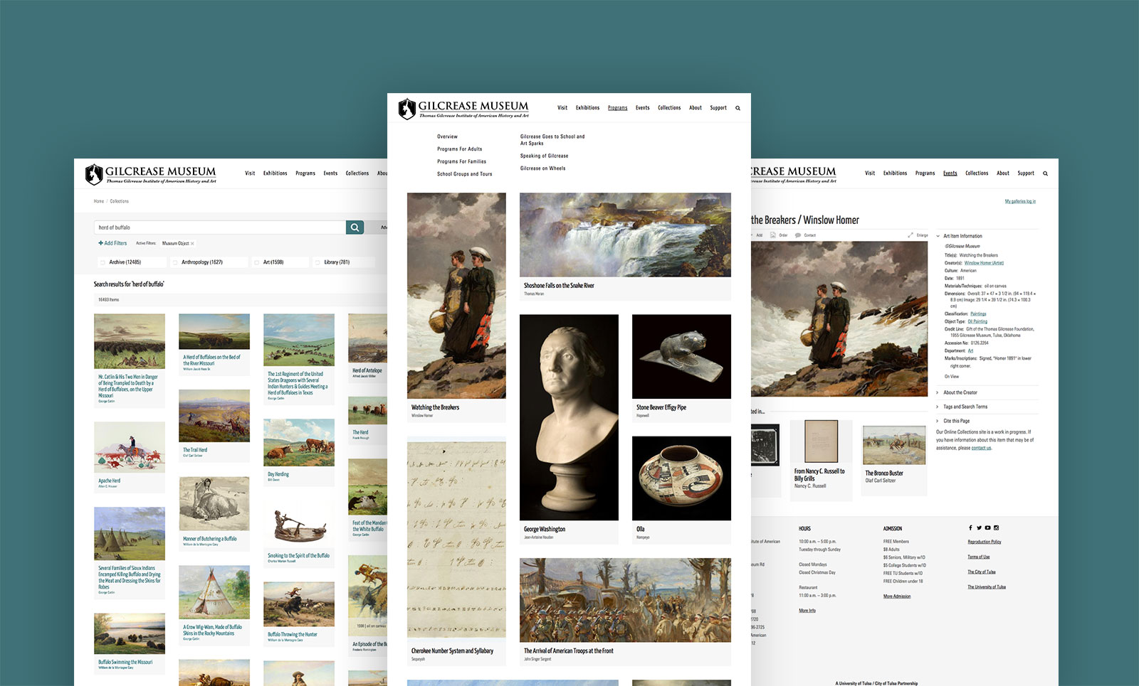 Gilcrease Museum Online Collections