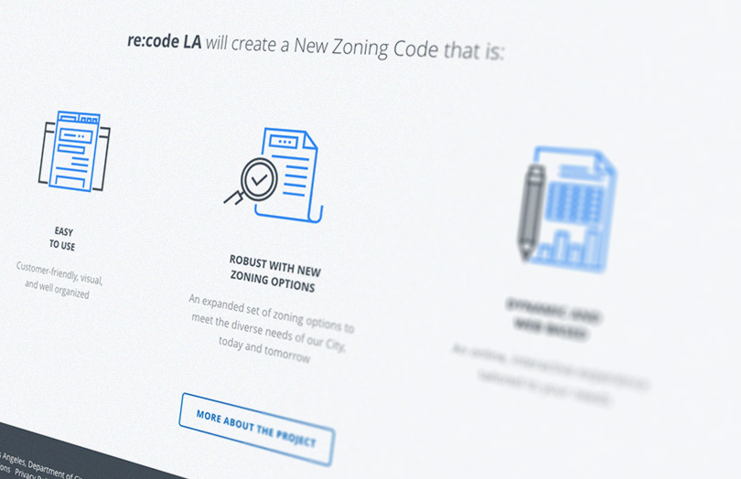 re:code LA website