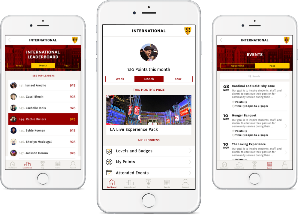 USC Residential Experience Mobile App