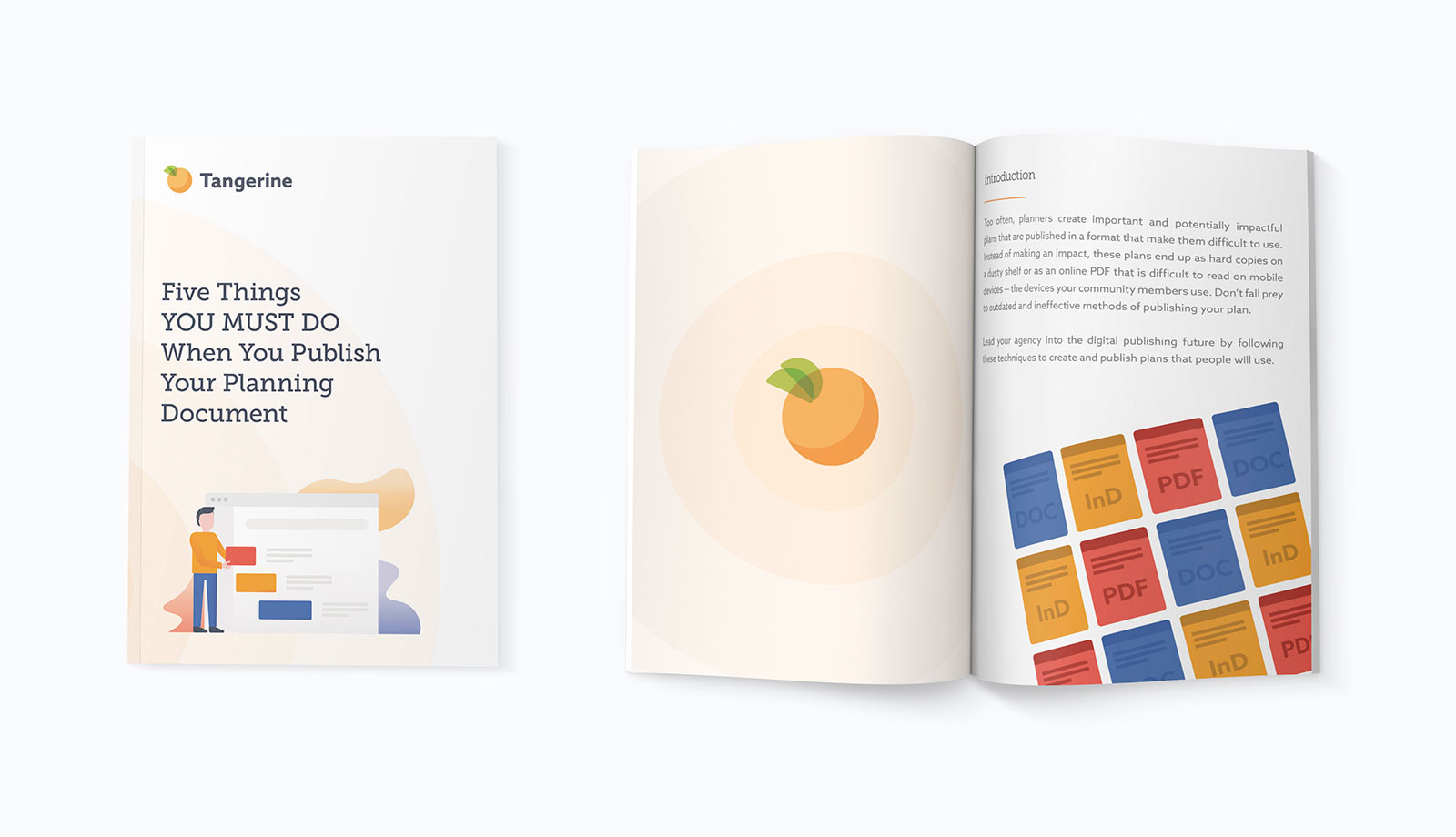 Tangerine brochure