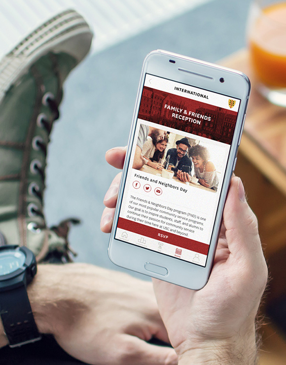 USC Residential Experience App