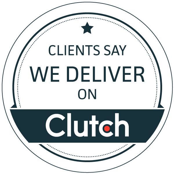 Image of a Clutch badge recognizing Urban Insight as a top web development and Drupal agency in the United States in 2020 based on client reviews.