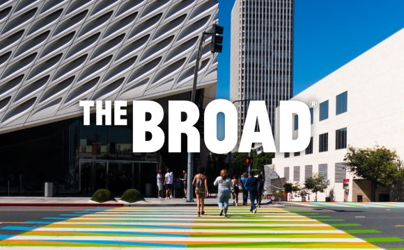 The Broad website